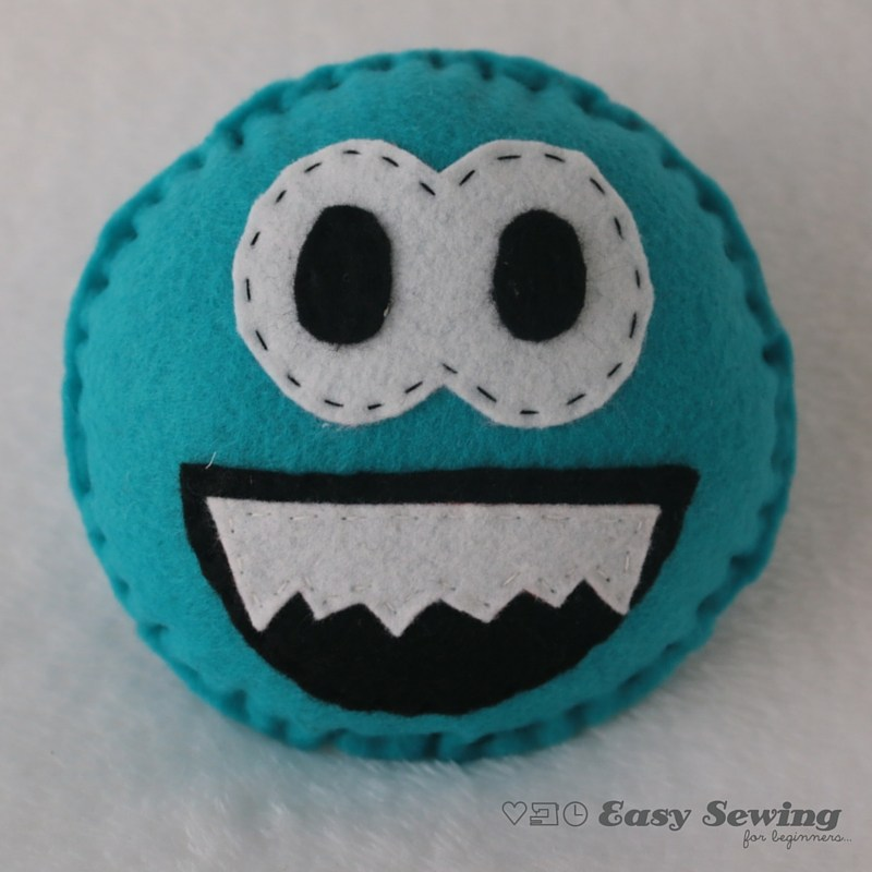 How to Sew a Mini Monster Mate