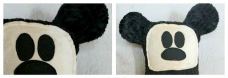 Mickey Mouse Inspired Plush