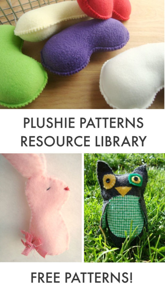 PLUSHIE PATTERNS RESOURCE LIBRARY sign up and get access to free patterns!