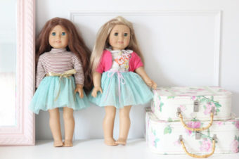 How to make a doll tutu