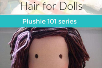 How to Make Yarn Hair for Dolls