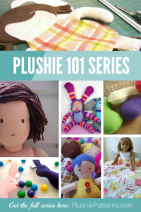 The Plushie 101 series -Everything You Want To Know About Sewing Dolls & Plushies is going to help with that! We are so excited to get this launched and help fill in the gaps when it comes to sewing plushie patterns and dolls.