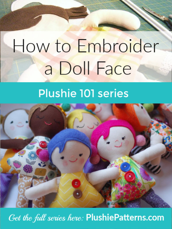 How to Embroider a Doll Face