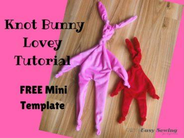 Knot Bunny Lovey